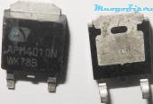 "картинка MOSFET, N-Channel, 40V, 57A, TO-252		APM4010N в магазине "" MnogoZip.ru"" Санкт-Петербург"